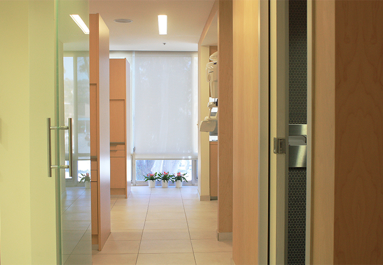 Office Corridor at Nest Dental Burlingame