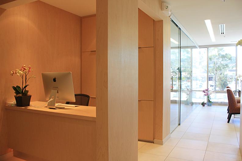 Office at Nest Dental Burlingame